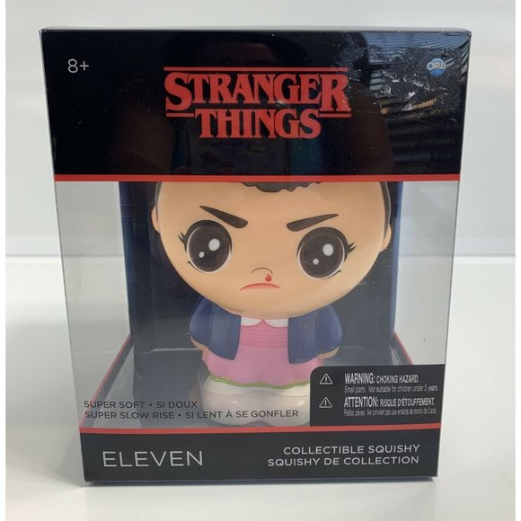 Stranger Things Collectible Squishy ELEVEN Soft